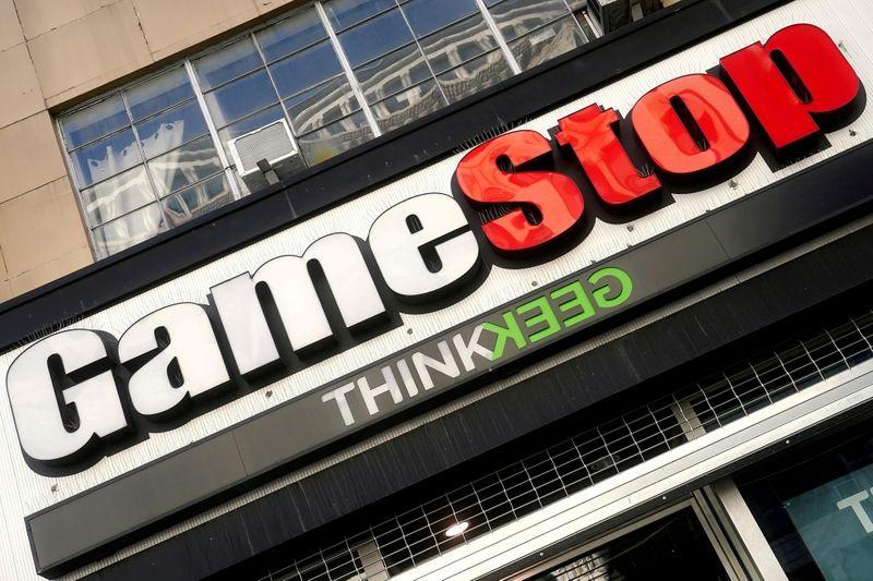 Акции GameStop на бирже Франкфурта взлетели более чем на 200%