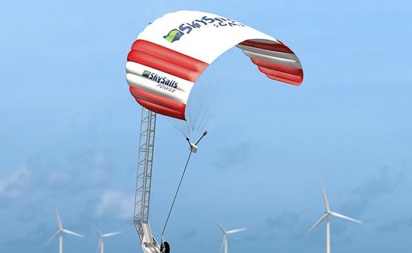 Немецкая SkySails Power реализует проекта в области выработки энергии ветра на большой высоте