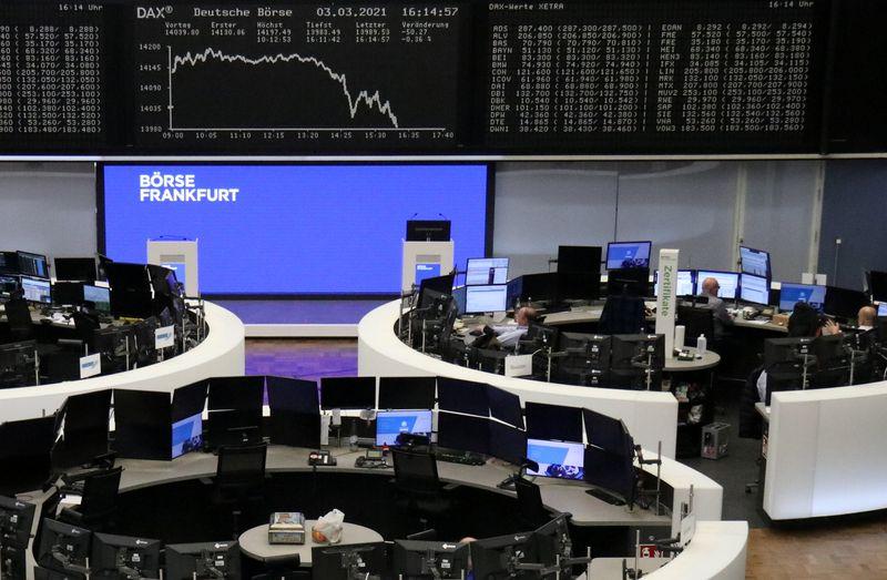Рост доходности госбондов США ударил по европейским акциям