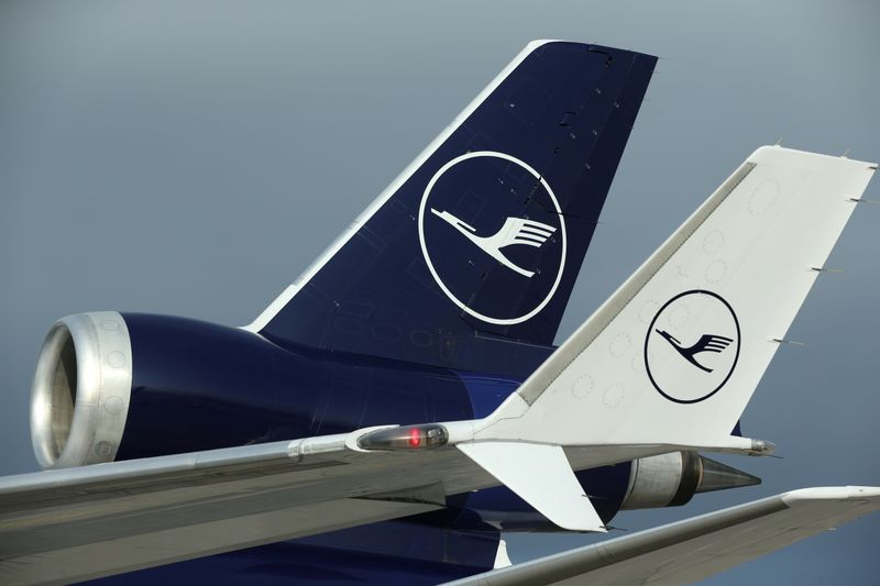 Lufthansa отчиталась о менее глубоком, чем ожидалось, чистом убытке за 4кв