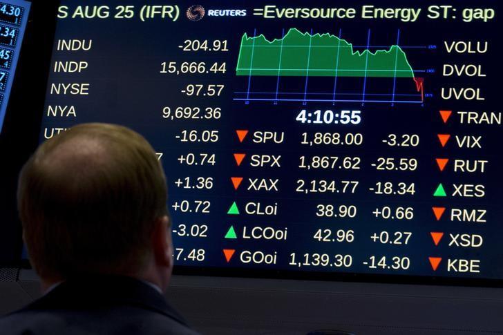 Рынок акций Московской биржи по состоянию на 10:05 мск 5 марта снижается