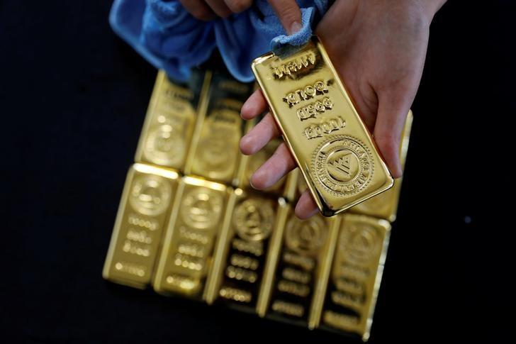 Фьючерсы на золото подешевели во время европейской сессии