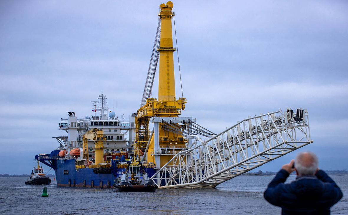 Способное завершить Nord Stream 2 судно вернулось в Калининград