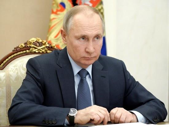 С экрана Путина донесся дикий грохот