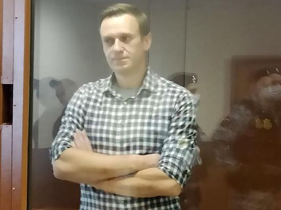 Навальный в колонии получил шесть выговоров
