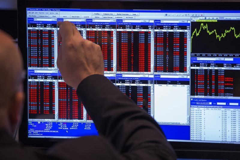 Рынок акций Московской биржи по состоянию на 16:00 мск 14 апреля растет