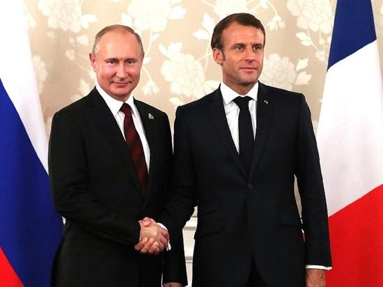 Макрон решил срочно связаться с Путиным