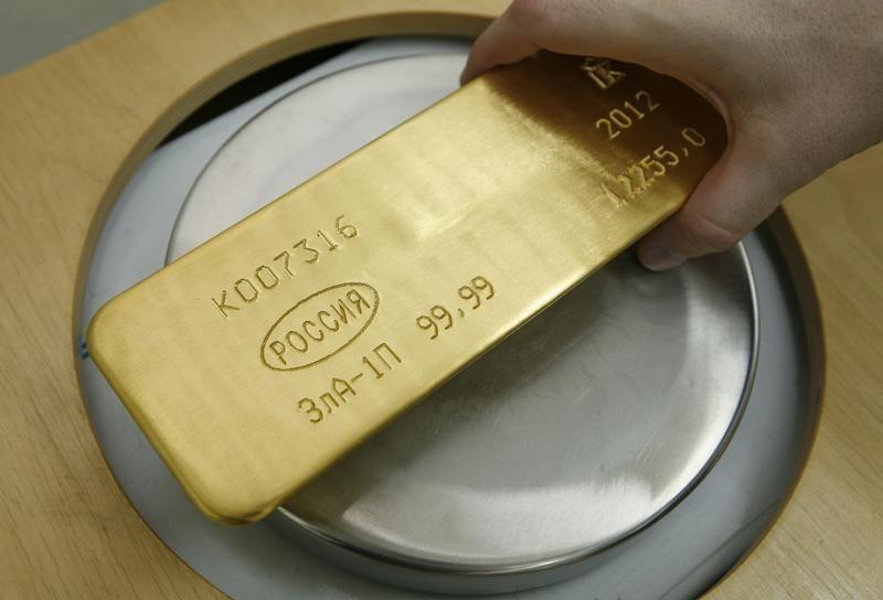 Фьючерсы на золото подорожали во время азиатских торгов