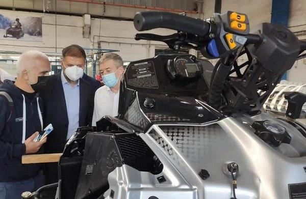 В России планируется наладить производство электрических снегоходов итальянского дизайна