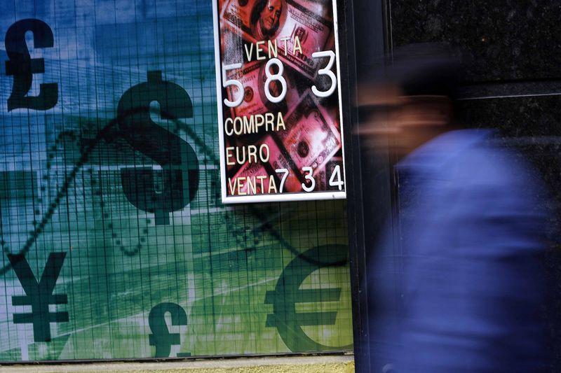 Доллар дорожает относительно основных мировых валют