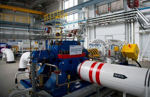 Завершен ремонт электродвигателя магистрального насосного агрегата на НПС в Рязанской области