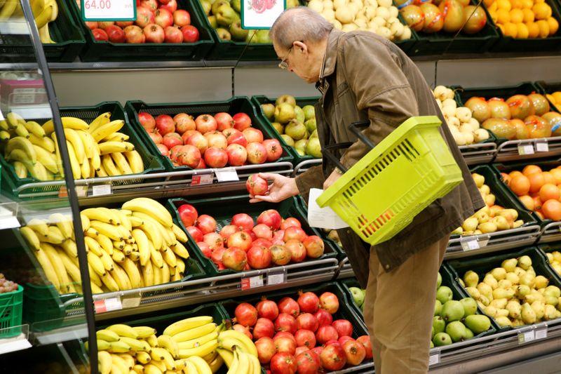 Инфляция в РФ в августе ускорилась до 6,68% г/г