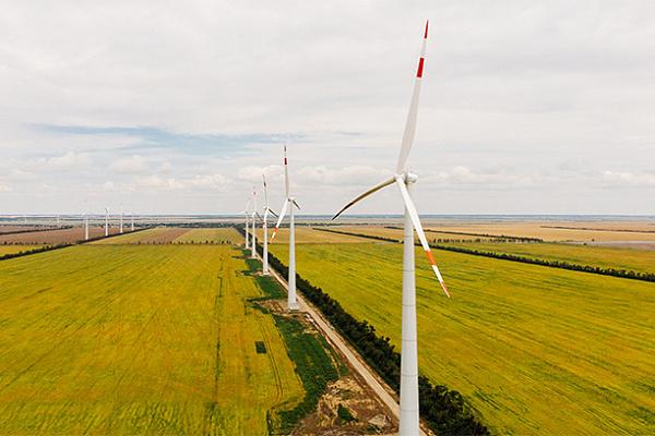 Введена в эксплуатацию Бондаревская ветроэлектростанция в Ставропольском крае