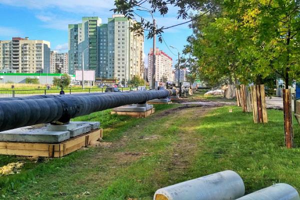 Надежность теплоснабжения повысится для 30 тысяч жителей в Невском районе