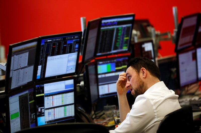 Европейские рынки акций торгуются на подъеме