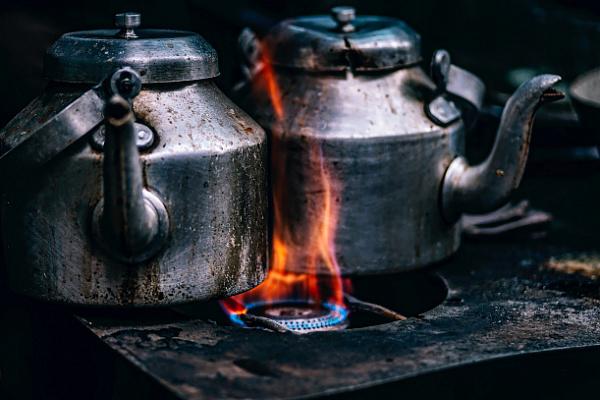 Циолковский готовится принимать газ