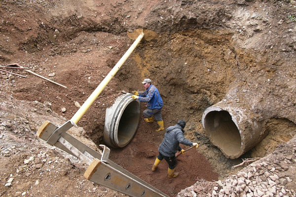 Теплоэнергетики завершили реконструкцию очередного участка тепломагистрали «Рылеевская»