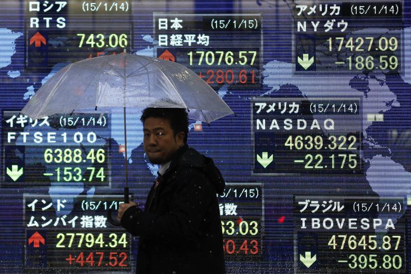 Азиатский рынок падает в ожидании данных по инфляции из США