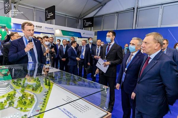 Юрий Борисов участие в пленарной сессии TNF 2021 «Новая промышленная политика: мир в эпоху глобальных изменений»
