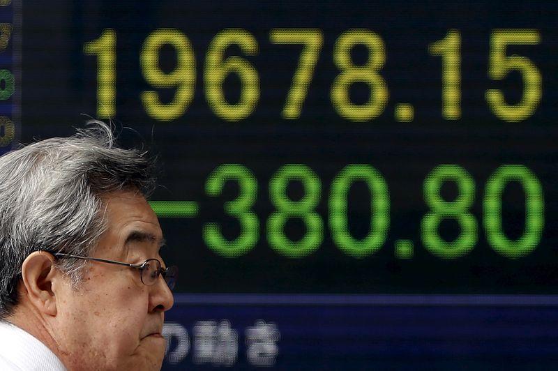 Азиатские индексы упали на разочаровании данными из Китая
