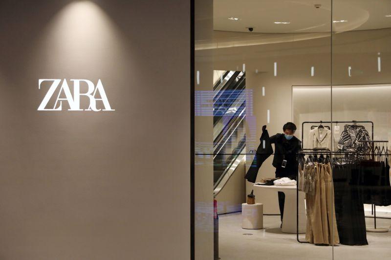 Владелец бренда Zara вернулся к допандемийному уровню продаж во 2 кв