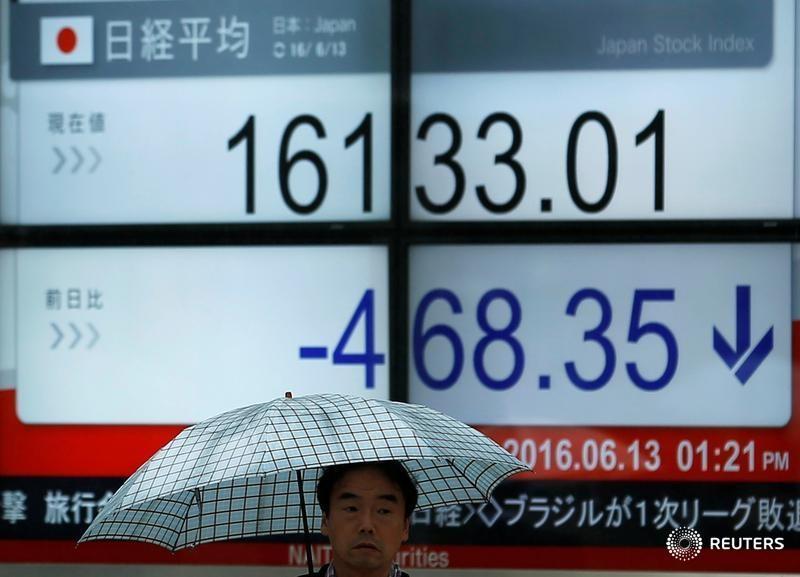 Азиатский рынок снижается в ожидании дедлайна по долгу Evergrande