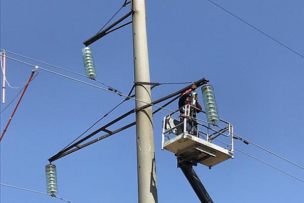 «Саратовские распределительные сети» повысили надежность электроснабжения потребителей в Марксовском районе