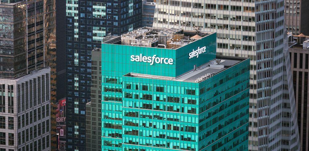 Salesforce. День инвестора привел к бурному росту акций