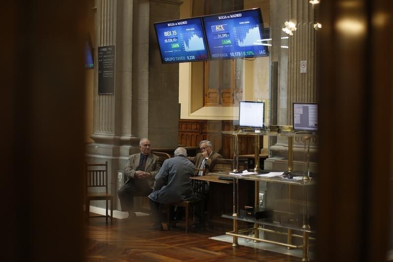 Европейские рынки акций торгуются в минусе