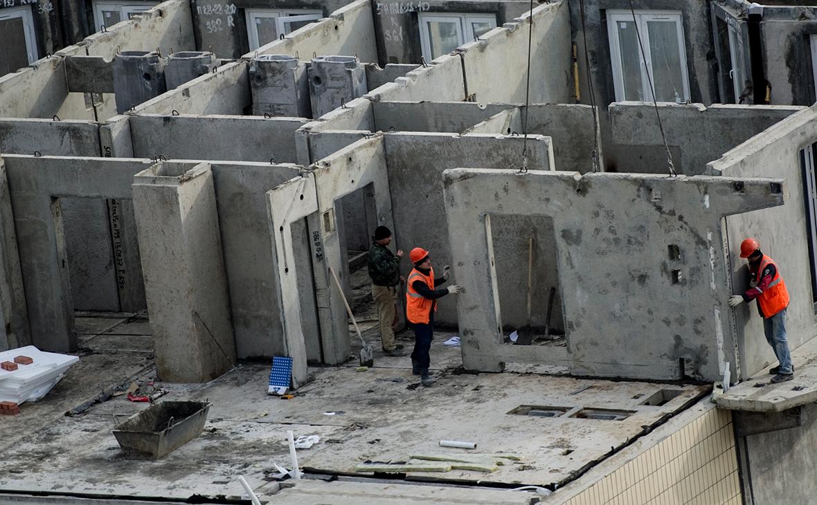 Министерства поспорили о мерах поддержки строителей
