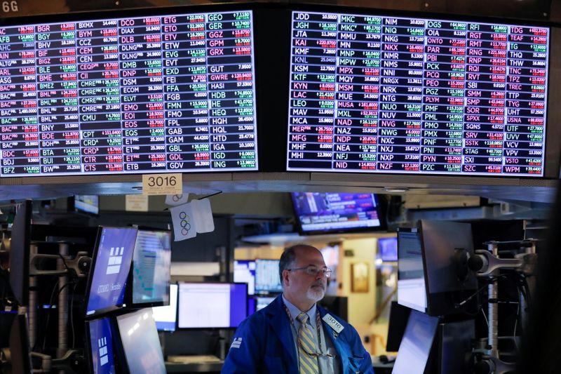 Фьючерсы на Dow растут благодаря банкам и энергетическим компаниям