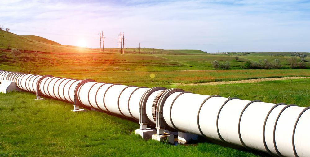 Газ в Европе впервые превысил $1000 за тысячу кубометров