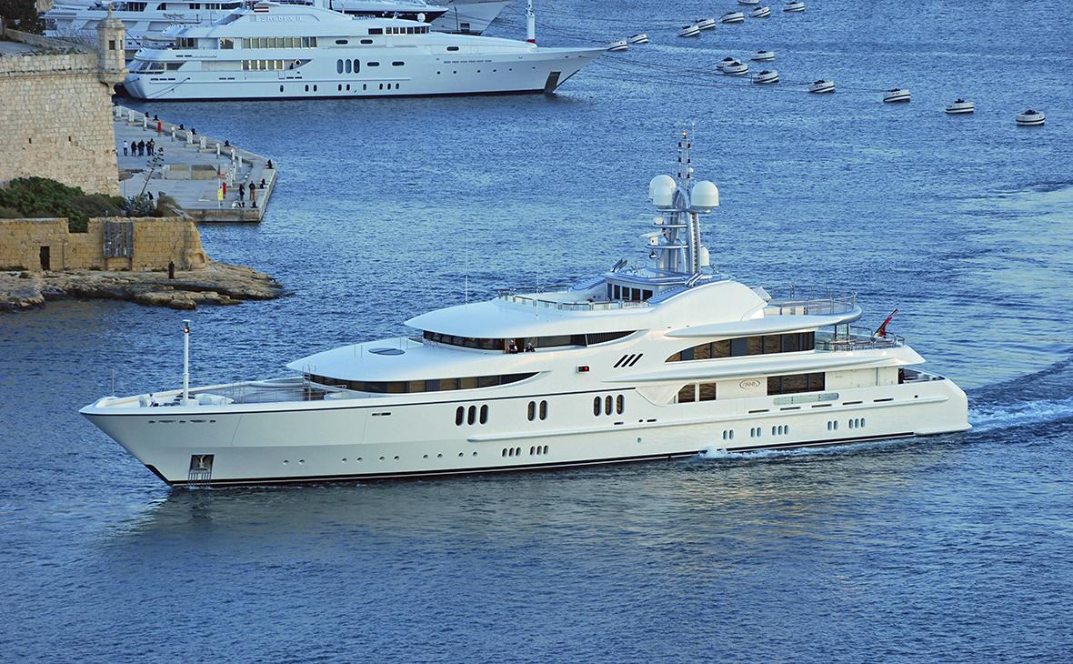 Миллиардер Дмитрий Рыболовлев продал 67-метровую яхту