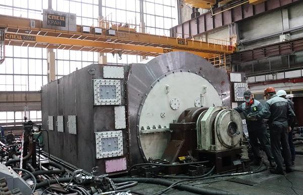 «ЭЛСИБ» провел испытания турбогенератора для Пермской ТЭЦ-9
