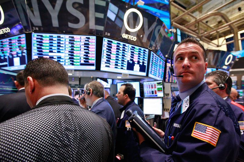 Рынок акций США закрылся падением, Dow Jones снизился на 1,59%