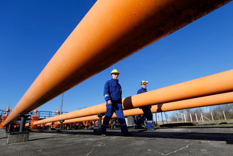 Венгрия получает газ из Украины -- оператор газопровода