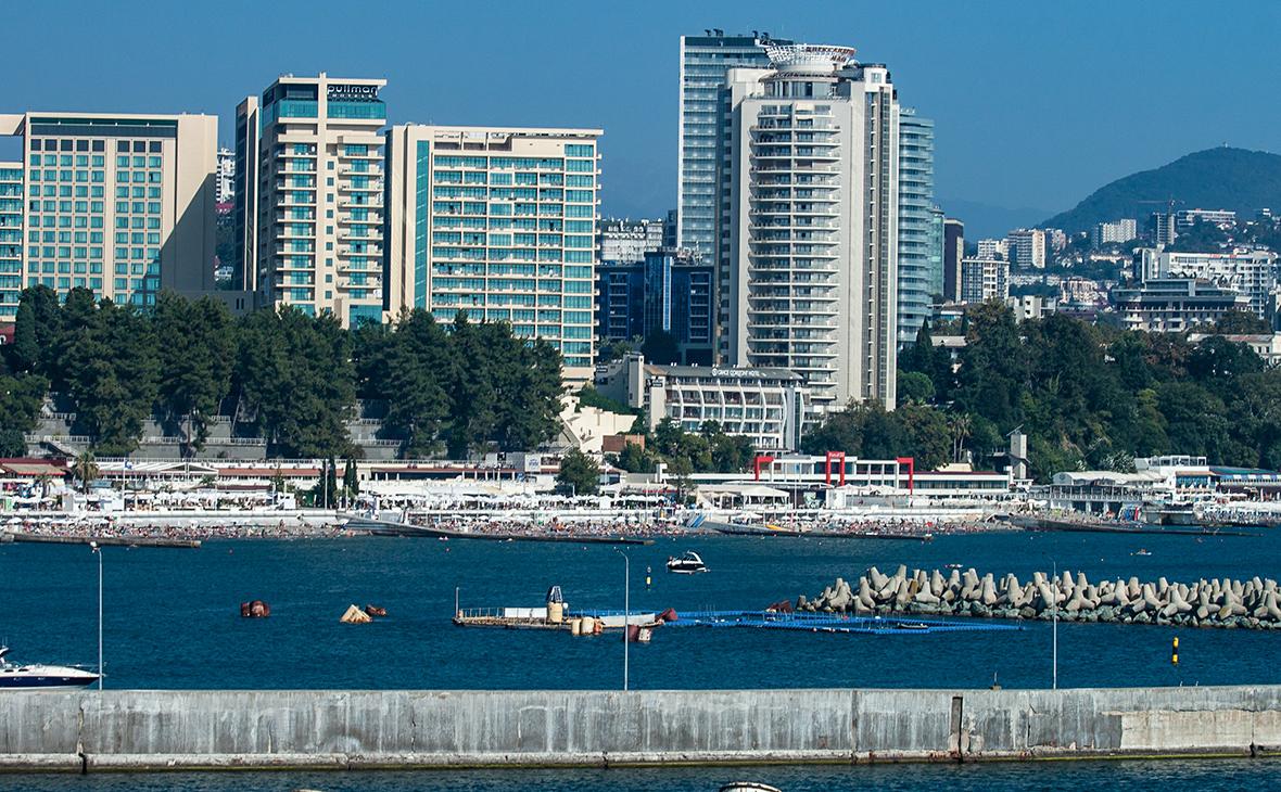 Элитные квартиры в Сочи оказались почти на треть дороже московских