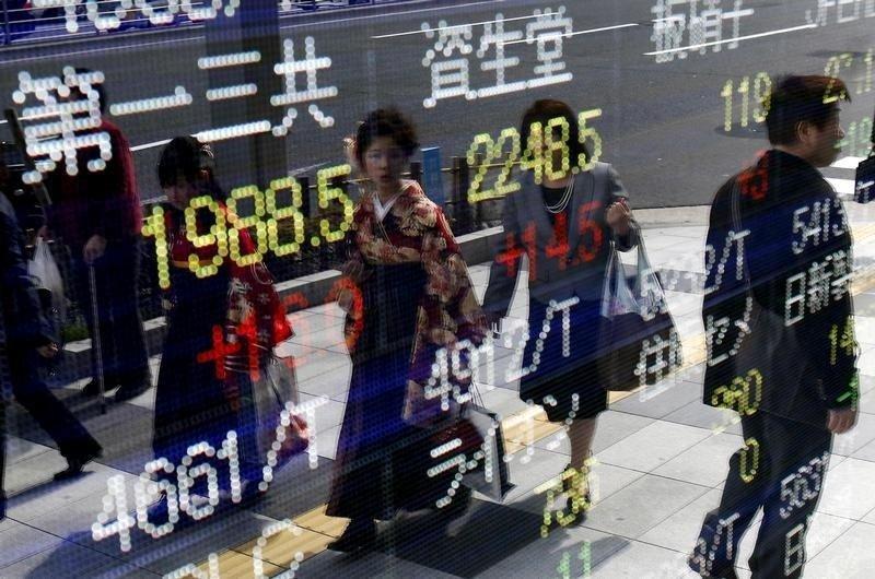 Азиатский рынок вырос к концу недели