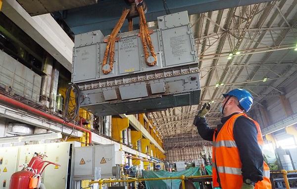 На Киришской ГРЭС проведен монтаж статора генератора в рамках проекта КОММод