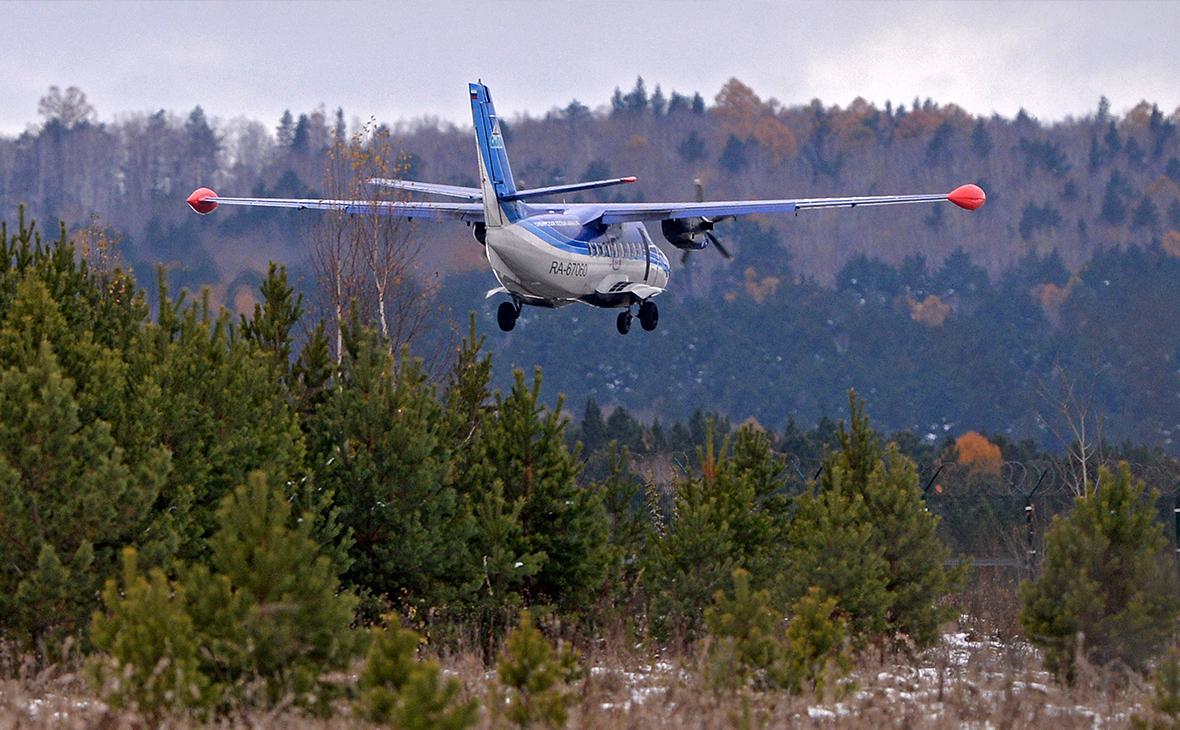 В трех российских регионах остановлены полеты в малые аэропорты