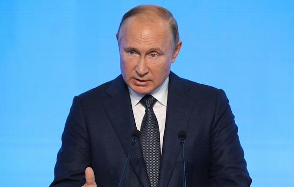 Владимир Путин примет участие в пленарном заседании «РЭН 2021»