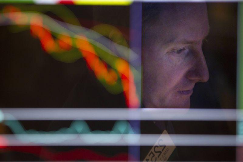Рынок акций Московской биржи по состоянию на 16:00 мск 12 октября снижается