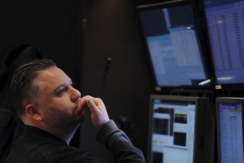 Рынок акций Московской биржи по состоянию на 18:45 мск 22 февраля снижается