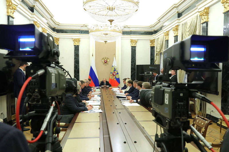 Путин призвал экспортеров металлов и удобрений инвестировать ожидаемую прибыль в экономику страны