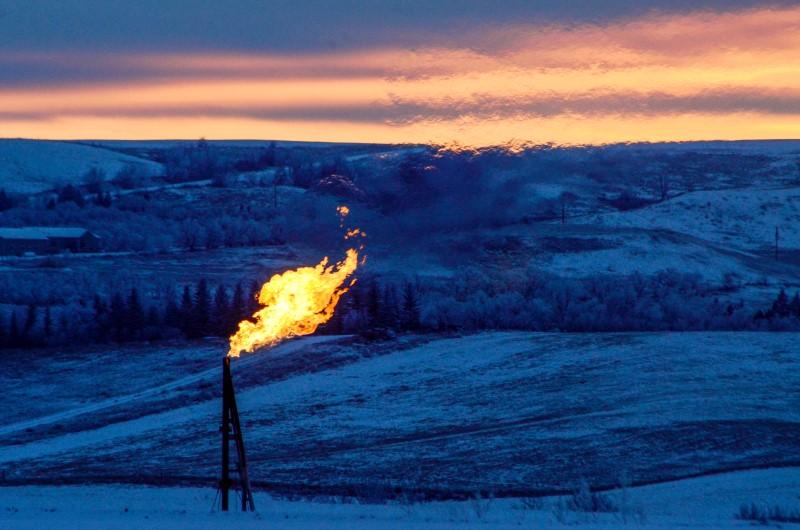 Фьючерсы на природный газ подорожали во время американской сессии