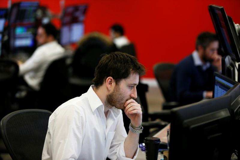 Рынок акций Московской биржи по состоянию на 14:30 мск 8 апреля растет