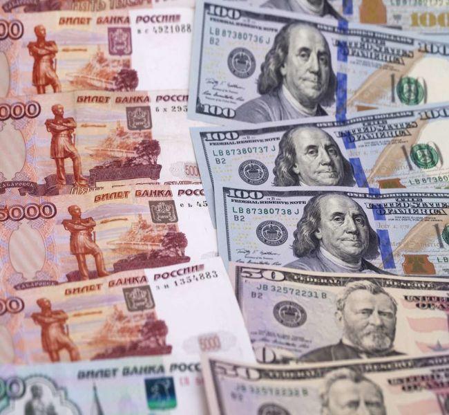 Где же остановится рубль