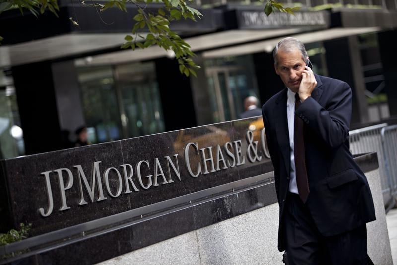 Прибыль JPMorgan резко выросла, но акции упали