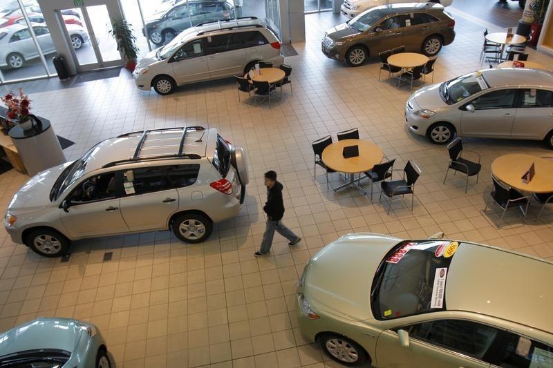 Продажи автомобилей в Евросоюзе в марте подскочили на 87,3%