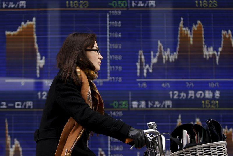 Азиатский рынок торгуется неоднозначно в конце недели